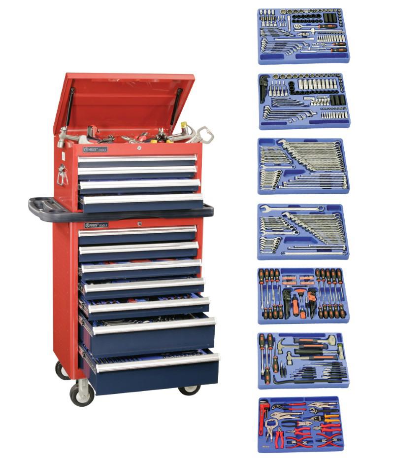 401 Piece 1/4″ & 1/2″ Dr. Metric & SAE Master Tool Set