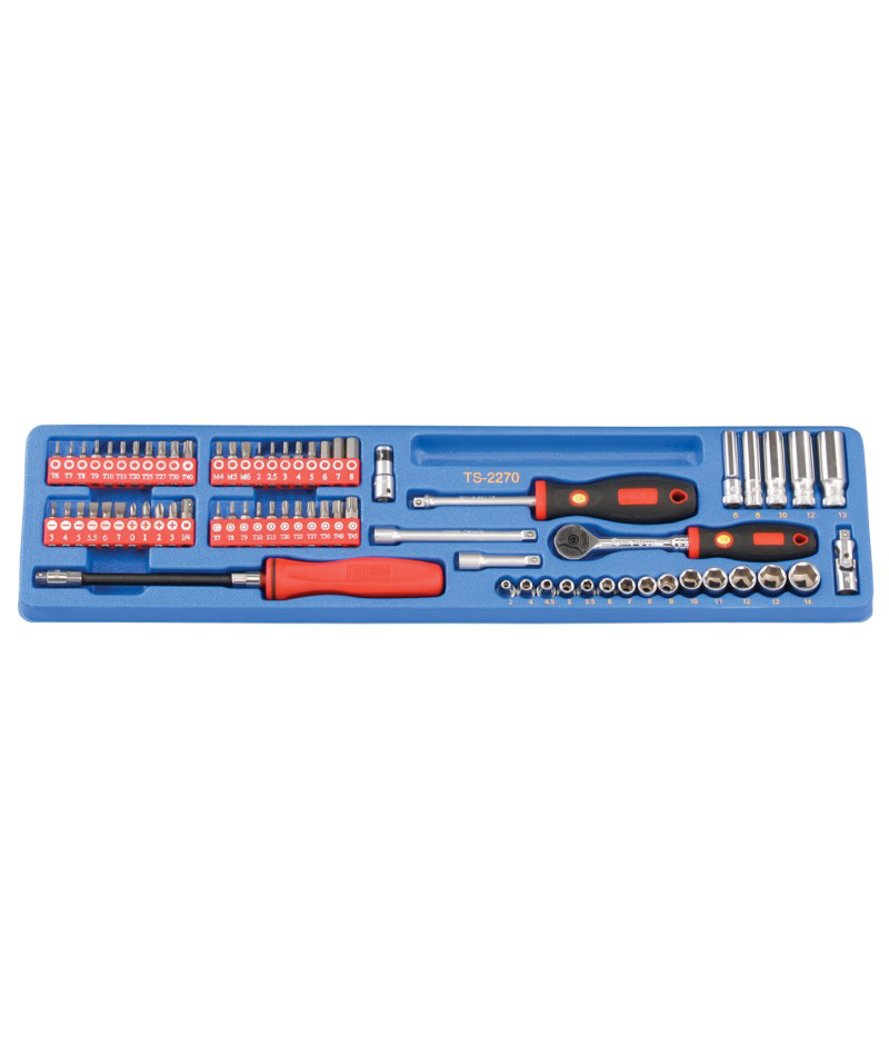 """Genius Tools 1//4/"""" Dr 225210 10mm Deep Hand Socket"""