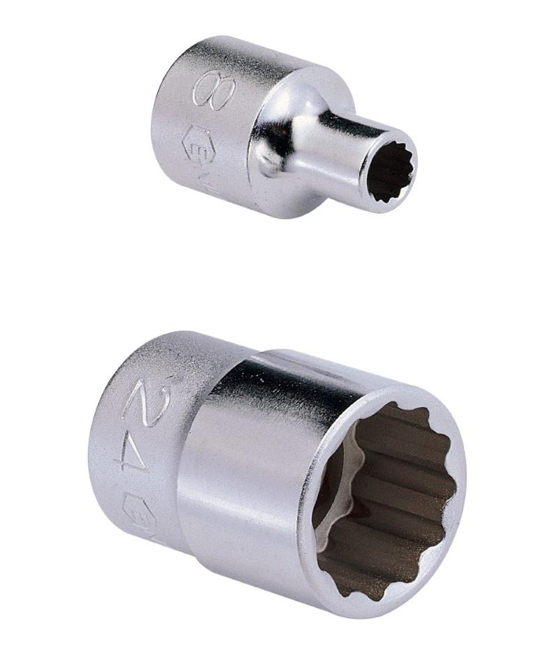 1/2″ Dr. 27mm (12 pt.) Hand Socket