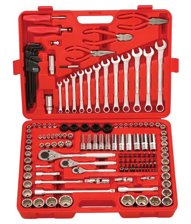 151 Piece 1/4″, 3/8″ & 1/2″ Dr. Metric & SAE Tool Kit