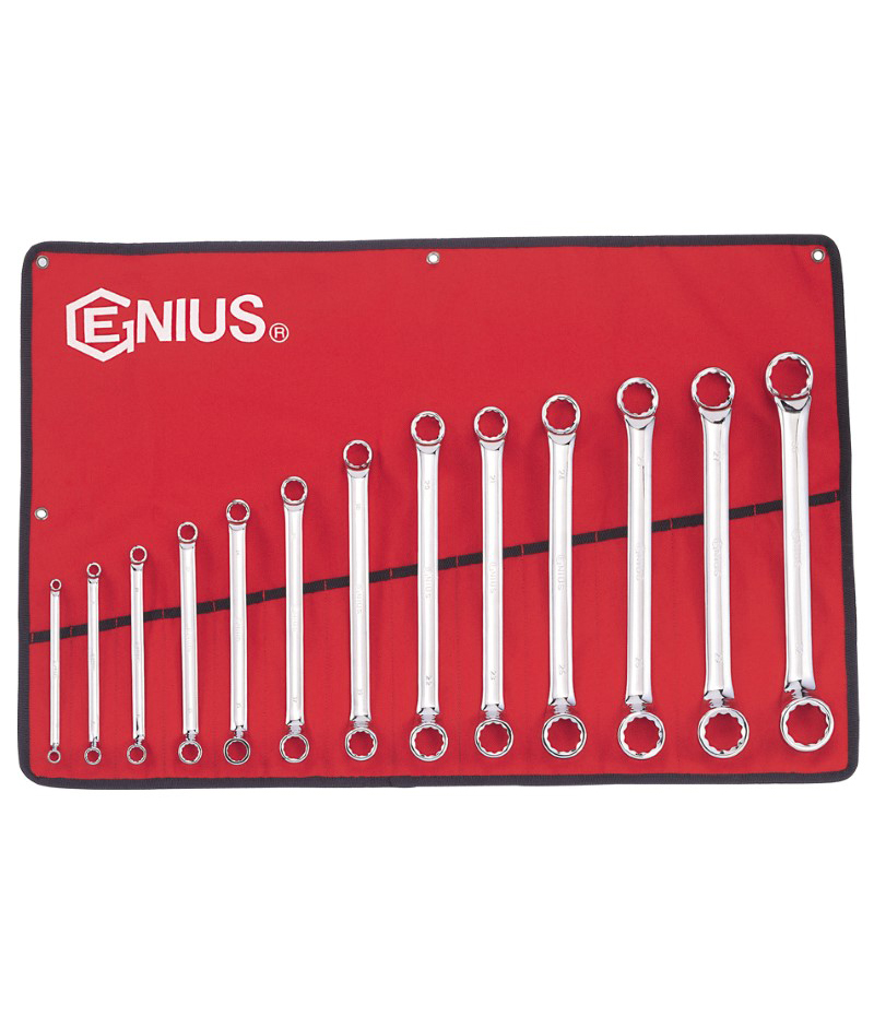 13 Piece Metric Double Ended Offset Ring Wrench Set