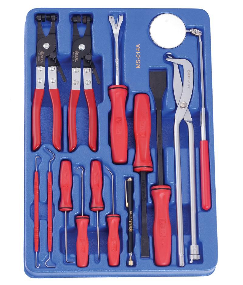 14 Piece Combination Auto Repair Tool Kit