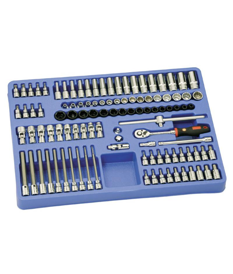 106 Piece 3/8″ Dr. Metric Tool Set