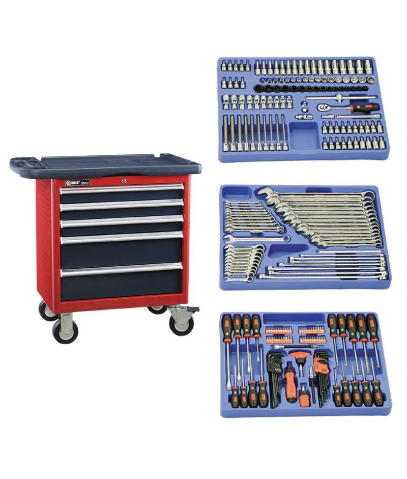 236 Piece 3/8″ Dr. Metric Mechanic Tool Set