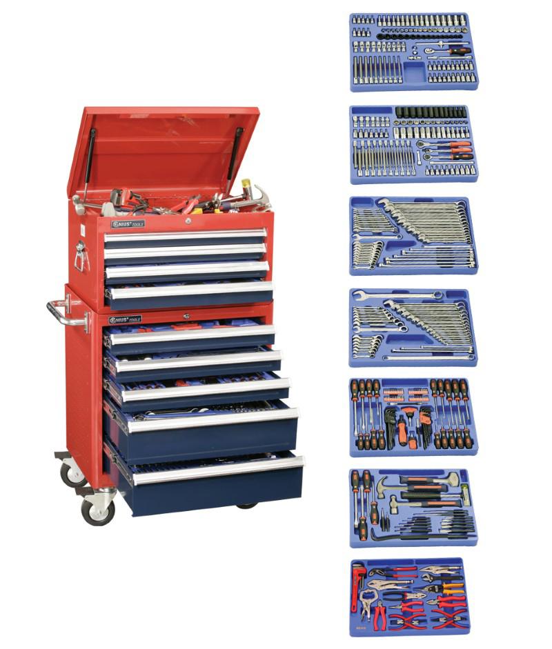 399 Piece 3/8″ Dr. Metric & SAE Master Tool Set