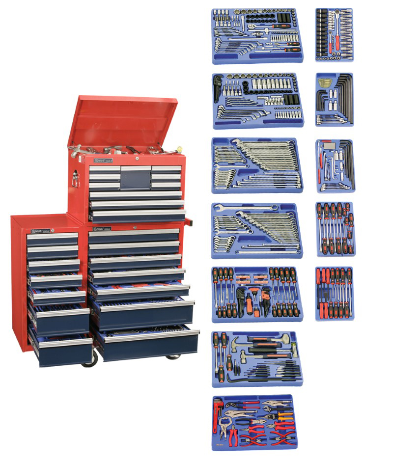 548 Piece 1/4″ & 1/2″ Dr. Metric & SAE Ultimate Tool Set
