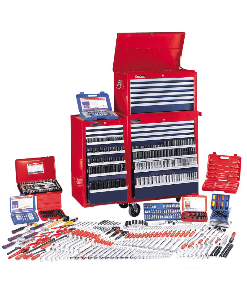 771 Piece 1/4″, 3/8″ & 1/2″ Dr. Metric & SAE Ultimate Tool Set (with Tool Chests)